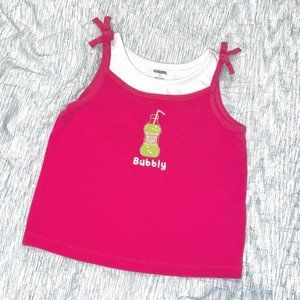 Gymboree bubbly tank from the citrus cooler line 7